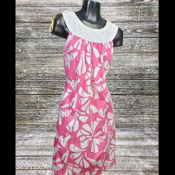 Lilly Pulitzer Dresses & Skirts - Lilly Pulitzer | Shift Dress Floral Pink & White